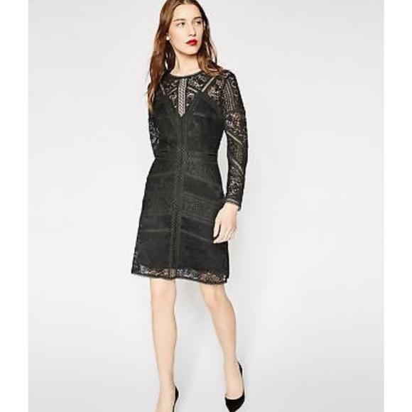 05425e6faa5 The Kooples Black Lace Mini Dress. M_5c0610370cb5aaba2391f266